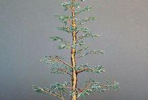 Drahtbäume