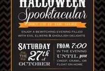 Haloween/ Costume Party invitations