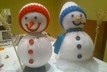 Muñeco de nieve / Como hacer un muñeco de nieve