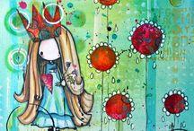 Mixed media,art journal