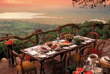 Spectacular Scenery / From bars, restaurants to hotel views . . . . .  Be inspired by  incredible scenery around the world!