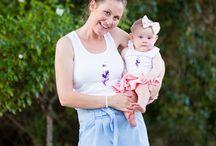 Mummy and me outfits / Mommy and me / Mummy and me outfits // mommy and me outfits // mum bub tops