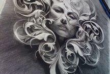 Black and Grey - Art