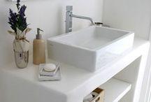 Baño cemento