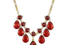 Red Hot Holiday Fashion / holiday jewelry collection