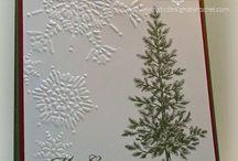 Christmas Cards / Handmade Christmas Card Ideas #cardmaking
