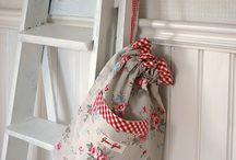 Bags / Pretty drawstring bags