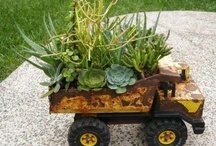 Thrifty for the Garden / Thrifty ideas in the Garden