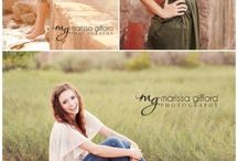Photography - HS Seniors / Ideas for senior portrait poses / by Erika