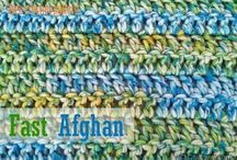 Crochet afghans or blankets / Warm things for winter