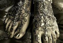 Henna Art - Mehndhi & other Body Art / by Teresa Wehr