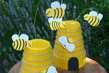 γλαστρες μελισσουλες