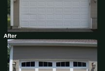 Garage Door Makeovers   Before and After Photos / It's amazing what a new garage door can do to revitalize your home. Check out some our favorite before and after projects from our Overhead Door distributors