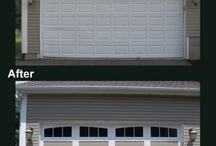 Garage Door Makeovers | Before and After Photos / by Overhead Door Garage Doors