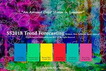 spring summer 2018 color trends
