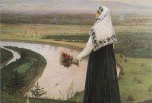 Art ~ Mikhail Nesterov orosz festő