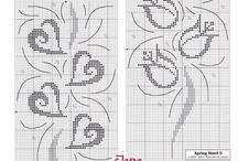 Μοντέρνα σχέδια σταυροβελονια