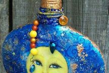 Bottles, Jars, Altars, Assorted Other Pretties / by Frightfully Spectacular
