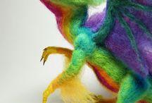 Culori ale curcubeului de lana