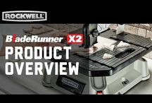 BladeRunnerX2 / The Ultimate Cutting Machine is back and better than ever! The all-new Rockwell BladeRunner X2 features increased portability and versatility, making this portable tabletop saw a must-have for any project.  / by Rockwell Tools