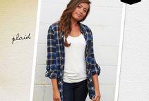 TrendMix Fall Fashion: Plaid