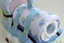 creazioni con pannolini