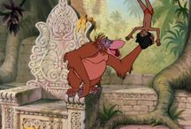 Mowgli meets king Louie the jungle book