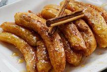 Bananas ao forno