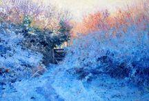 Andrew Barrowman paintings / Oil paintings of Cornwall by Andrew Barrowman