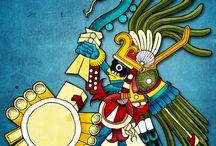 Dioses y piezas prehispánicos