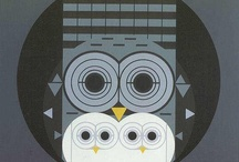 Owls of the Modern Persuasion / Only modernist owls allowed! / by Arielle Schechter