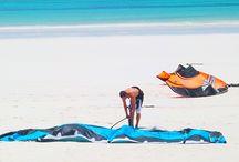 Kite Surfing, Diani Beach, Kenya