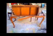 Officina Retrô restauração de móveis.