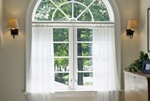 Annalise's Arched Window - Covering Ideas / by Lisa Metzger