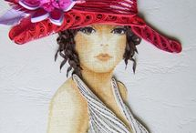 Quilling portrety