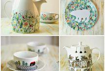 Porslin & keramik