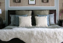 Redecorating bedroom ideas / Various ideas that I like that could be used in redecorating our bedroom.