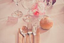 deco table virginie et jerome / by MARIE JOUB