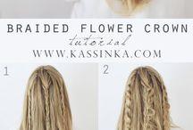 brudepike hår
