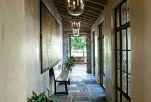 loggia ideas / ideas for enclosing off an outdoor loggis