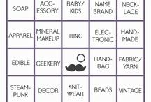 Tophatter Bingo / by Natalie Blake