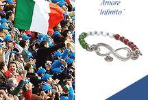 Forza Italia / Bracciale argento