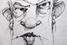 Illustration - Illustrazione - Disegni - Draw - Sketch / Disegni - Draw - Sketch