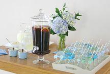 table/party deco/food ideas / by Sue DeMasellis
