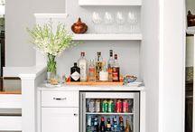 Mini kitchen bar