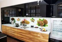 Bucatarii frumoase - idei de amenajare diverse - Nice kitchens and design ideas