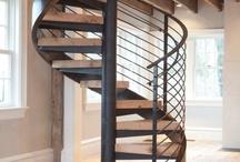 Smeedijzeren - gietijzeren trappen of balustrades