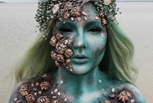 Mermaid - Body Painting