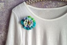 brooch fabric