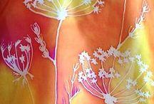 Malování na hedvabi